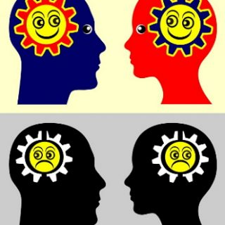 chart illustrating how emotional contagion can make others fell the emotions of people they are interacting with