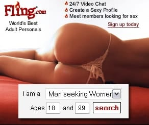 cougar dating footer ad