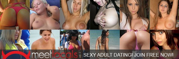 free dating banner with pretty girl collage