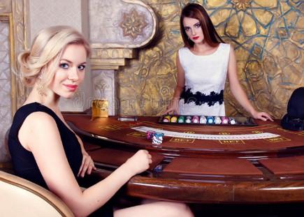 lucky or good header image of girl gambling
