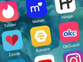 dating web header image of dating app icons